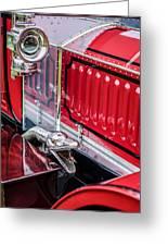1912 Rolls-royce Silver Ghost Rothchild Et Fils Style Limousine Snake Horn -0711c Greeting Card