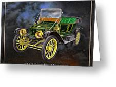 Stanley Steamer Greeting Card