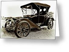 1913 Argo Electric Model B Roadster Coffee Greeting Card