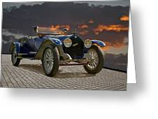 1914 Mitchell Raceabout I Greeting Card