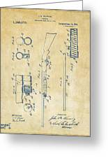 1915 Ithaca Shotgun Patent Vintage Greeting Card