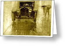 1918 - Hupmobile Automobile Advertisement - Color Greeting Card