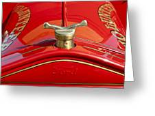1919 Ford Volunteer Fire Truck Greeting Card