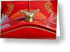 1919 Ford Volunteer Fire Truck Greeting Card by Jill Reger