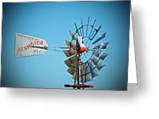 1920 Aermotor Windmill Greeting Card