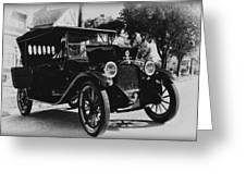 1920 Dodge Convertable Greeting Card