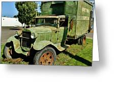 1920s Ford Moving Truck Greeting Card