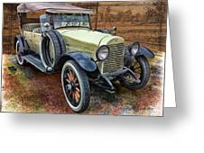 1921 Hudson-featured In Vehicle Enthusiasts And Comfortable Art And Photography And Textures Groups Greeting Card