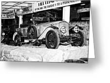 1921 Vauxhall 30/98e Greeting Card
