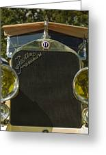 1922 Isotta-fraschini Tipo 8 Torpedo By Sala Greeting Card