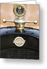 1922 Studebaker Touring Hood Ornament Greeting Card