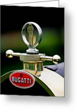 1923 Bugatti Type 23 Brescia Lavocat Et Marsaud Hood Ornament Greeting Card