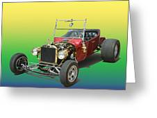 1923  Ford T Bucket  Greeting Card by Jack Pumphrey