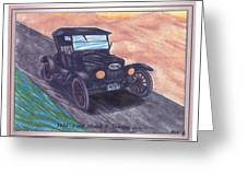 1924' Ford Model-t Touring Greeting Card