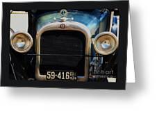 1926 Dodge In Astoria Oregon Greeting Card