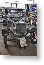 1926 Ford Model T Runabout Greeting Card by Douglas Barnard