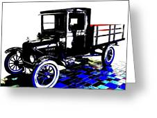 1926 Ford Model T Stakebed Greeting Card