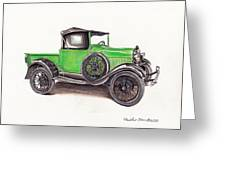 1926 Ford Truck Greeting Card