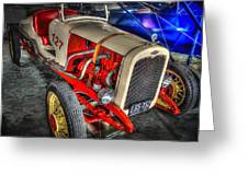 1927 Chevy Dirt Racer Greeting Card