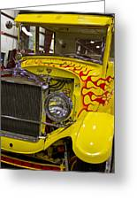 1927 Ford-front View Greeting Card