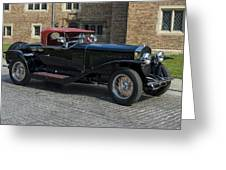 1927 Isotta Fraschini Tipo 8a Roadster Greeting Card