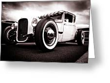 1928 A Coupe Greeting Card by Phil 'motography' Clark