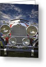 1928 Auburn Model 8-88 Speedster Greeting Card