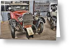 1928 Dodge Roadster Greeting Card