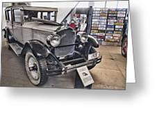 1928 Packard 526 Sedan Greeting Card
