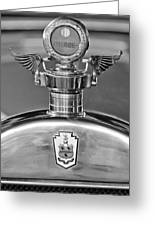 1928 Pierce-arrow Hood Ornament 2 Greeting Card