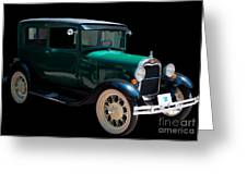 1929 Ford Roadster Greeting Card