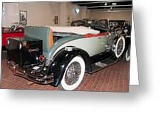 1929 Hudson R Convertible Coupe Greeting Card