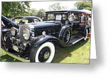 1930 Cadillac V-16 Imperial Limousine Greeting Card