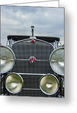 1930 Cadillac V-16 Greeting Card