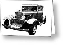 1930 Chevy Greeting Card