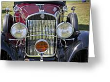 1930 Chrysler Model 77 Greeting Card