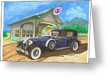 1930 Cord L Towncar Greeting Card