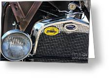 1930 Ford Model A - Front End - 7497 Greeting Card