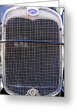 1930 Ford Model A Grille Greeting Card