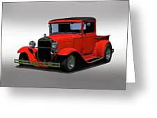 1930 Ford Model A Pick Up Greeting Card