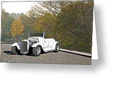 1930 Ford Roadster Greeting Card