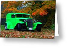 1930 Ford Sedan Delivery Truck  Greeting Card