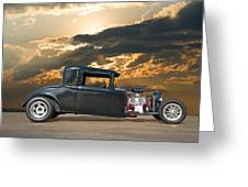 1930 Hudson Hot Rod Coupe II Greeting Card
