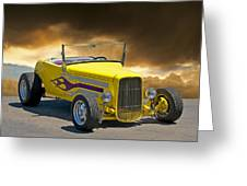 1930 Model A Roadster I Greeting Card