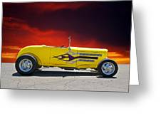 1930 Model A Roadster IIi Greeting Card
