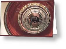 1930 Ruxton Wheel Greeting Card