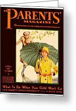 1931 - Parents Magazine - April - Color Greeting Card