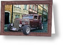 1931 Chev Greeting Card