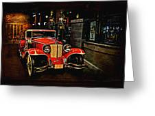 1931 Cord L-29 Greeting Card by Maria Angelica Maira
