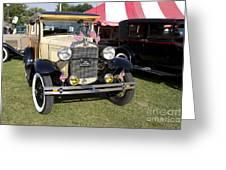 1931 Ford Model-a Car Greeting Card